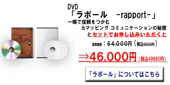 洞察+ラポールセット価格DVD画像②